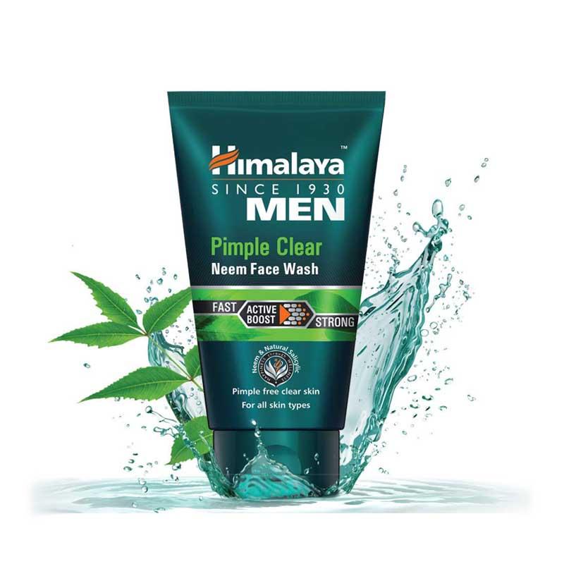 HIMALAYA MEN PIMPLE CLEAR FACE WASH